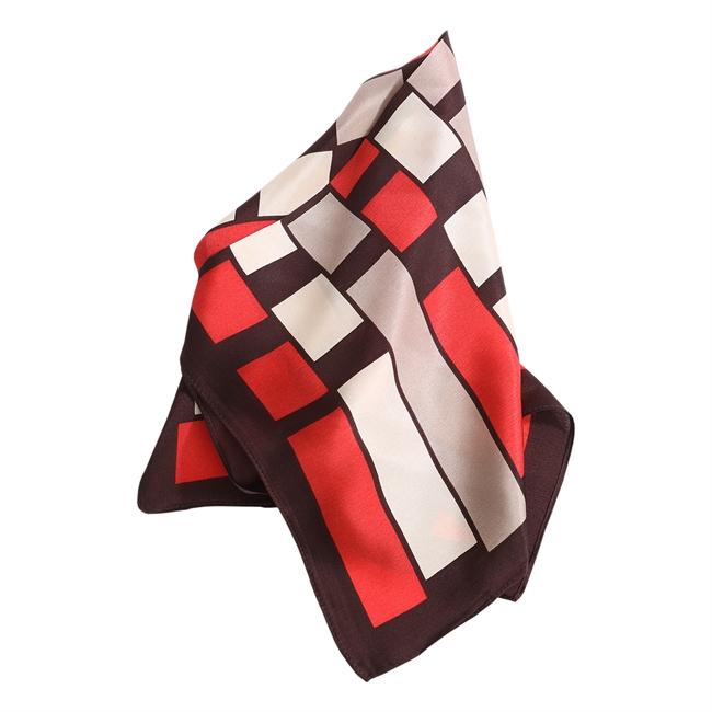 Picture of Mini scarf Nikita, red mix