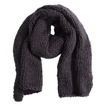 Picture of Scarf Nora, charcoal