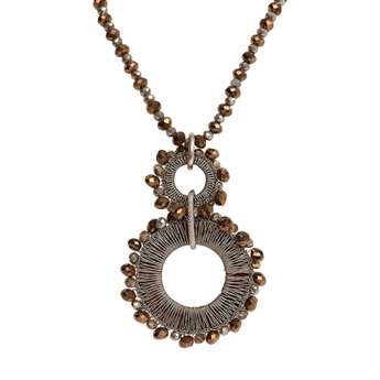Picture of Necklace Sydney, brown