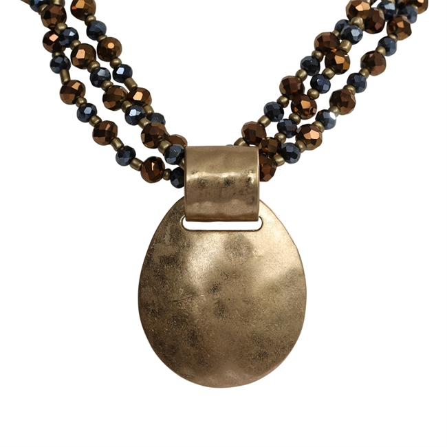 Picture of Necklace Brielle, gold