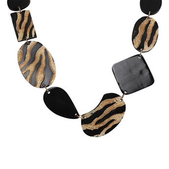 Picture of Necklace Alice, black/ivory