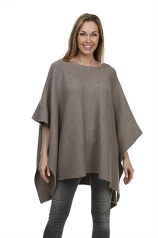 Picture of Poncho Adele, dk beige
