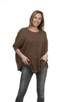 Picture of Poncho Disa, brown