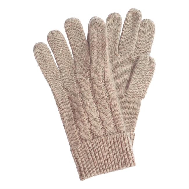 Picture of Gloves Zermatt, dk beige