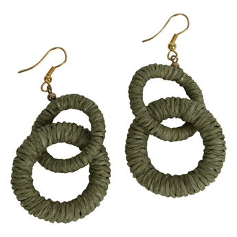 Picture of Earring Abigail, olive